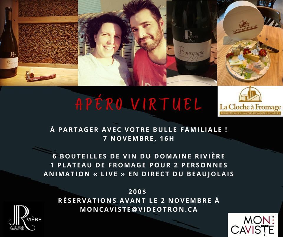 Apéro Virtuel – Domaine JP Rivière