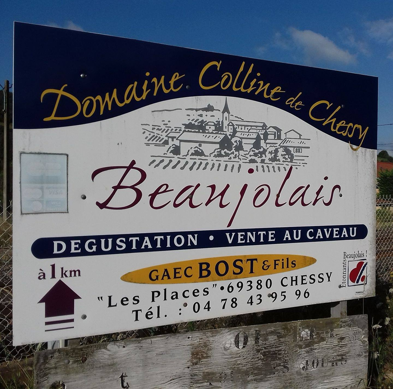 Domaine Colline de Chessy