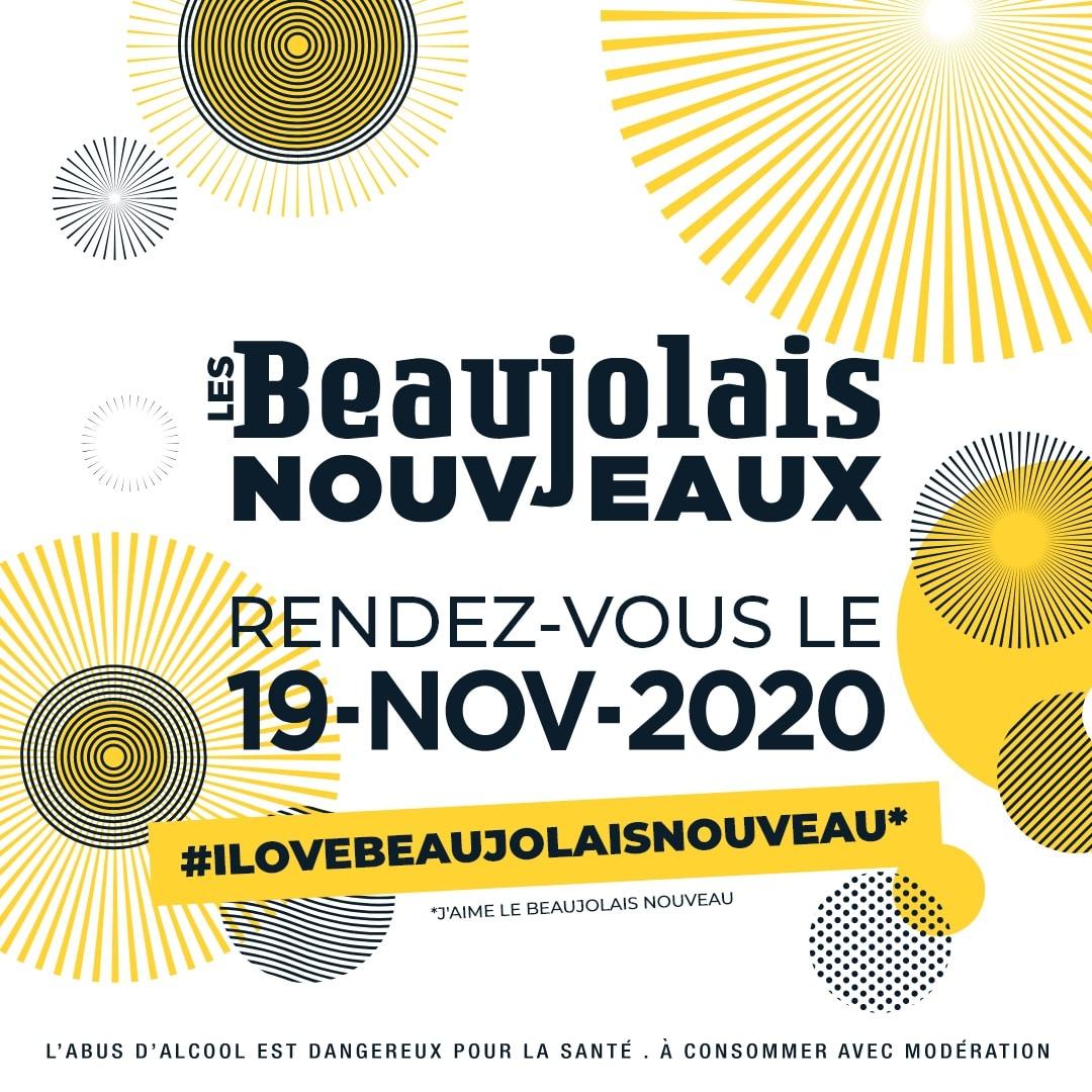 A Notre Table propose : Le Beaujolais Nouveau à emporter  !