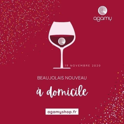 Beaujolais Nouveau à domicile par Agamy