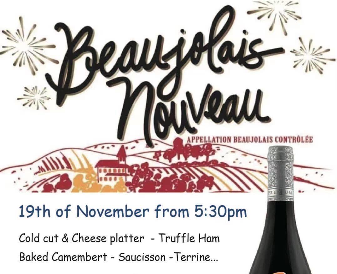 Beaujolais Nouveau at Must