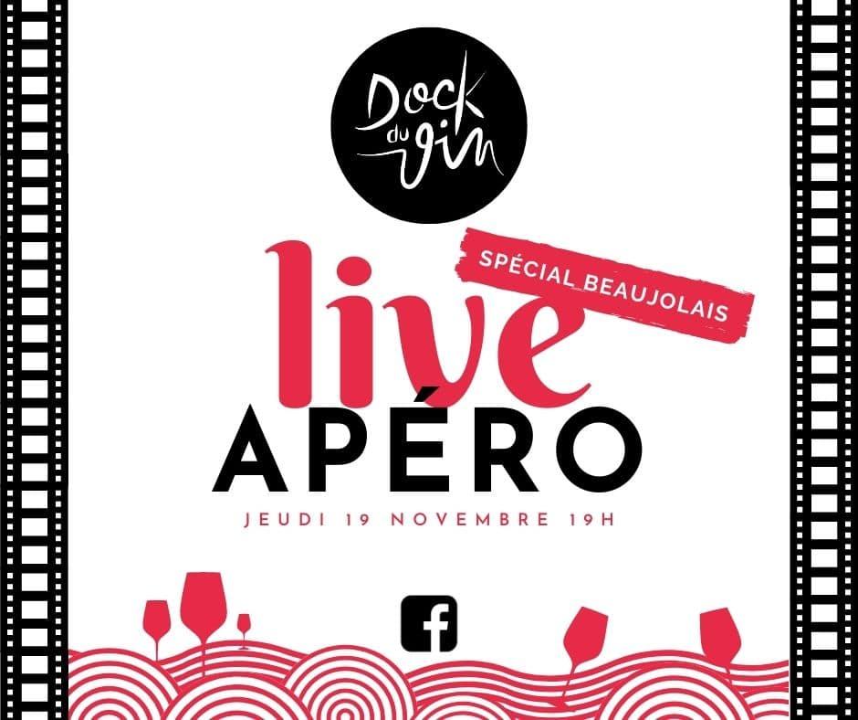 Apéro Live Dock du Vin – Spécial Beaujolais