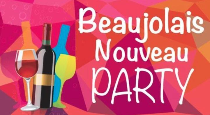 Alliance Francaise de Newport celebration of Beaujolais Nouveau