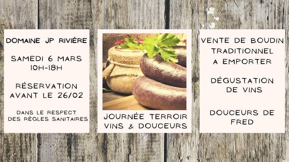 Journée Terroir : Vins & Douceurs