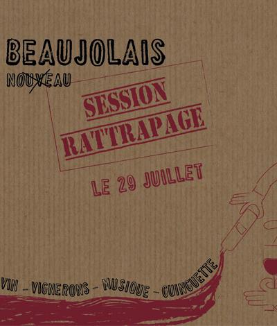 Beaujolais Nouveau – Session rattrapage
